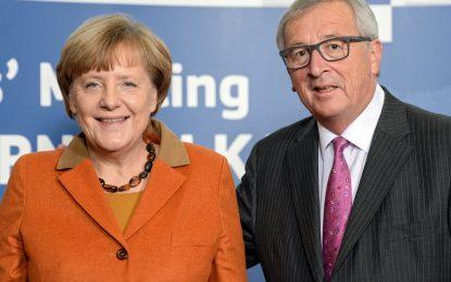 Меркел смята Юнкер за част от проблемите в ЕС