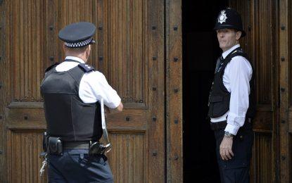 А пък британските полицаи са стреляли само 7 пъти за година