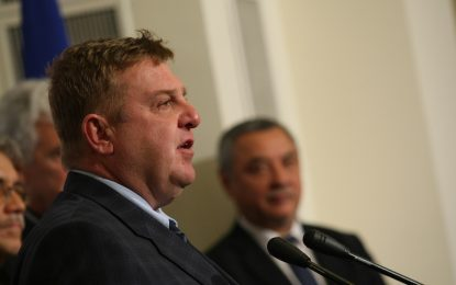 Националистите издигат Каракачанов за президент и Явор Нотев за вице