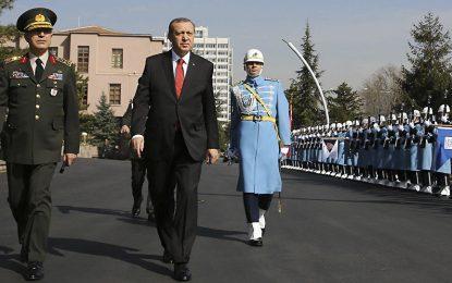 Турция разпуска президентската гвардия на Ердоган