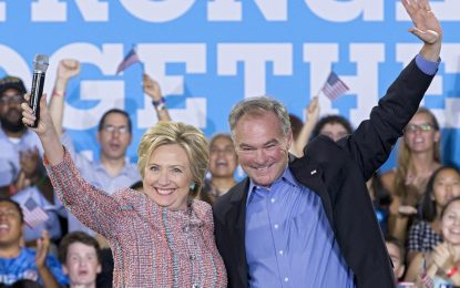 Хилари Клинтън избра Тим Кейн за свой вицепрезидент