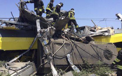 Началник гара призна вина за жп катастрофата в Италия