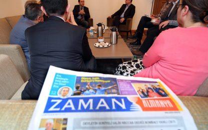 """Турция погна журналисти от вестника на гюленистите """"Заман"""""""