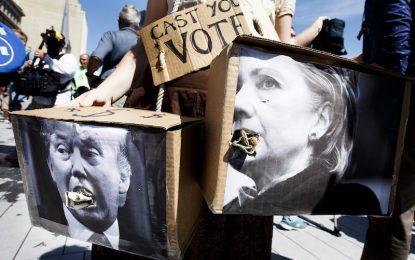 Американците харесват Тръмп повече от Хилари