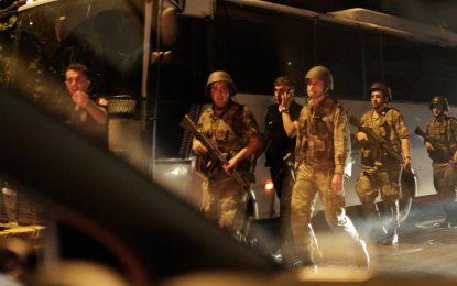 Превратът  в Турция пресечен, Ердоган държа реч