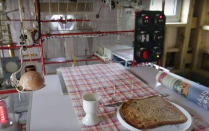 Британски пенсионери зарадваха жените си с машина за закуска
