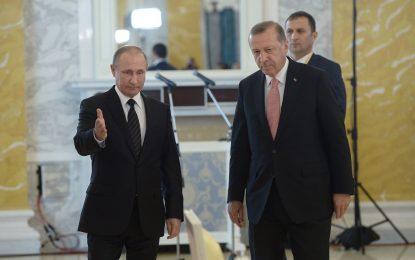 Ердоган иска да контролира газовия кран за Европа