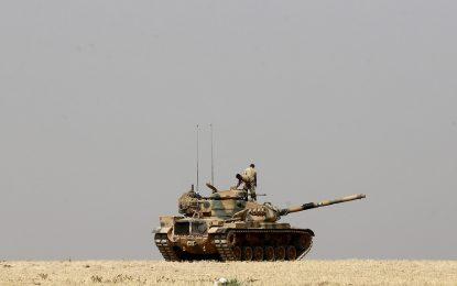 Турция спира офанзивата си в Северна Сирия