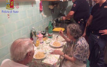 Италиански полицаи утешиха с паста самотни старци