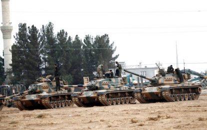 Втори ден турски танкове прочистват Северна Сирия от джихадисти и кюрди