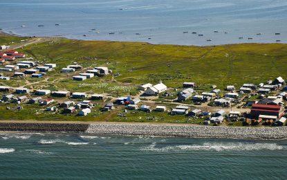 Селце в Аляска стана жертва на глобалното затопляне