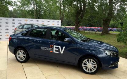 Русия показа електрическа LADA