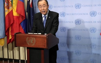 Бан Ки-мун разочарован от световните лидери