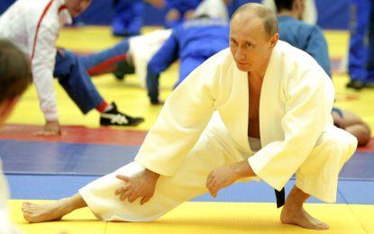 Как Путин учи децата в Русия за самураи