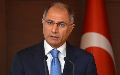 Министърът на вътрешните работи на Турция подаде оставка