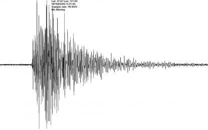 Земетресение разлюля Вранча и части от България