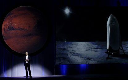 SpaceX иска да прати хора на Марс до шест години