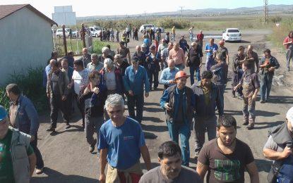 Миньори на Ковачки пак на протест – дължат им 337 000 лева