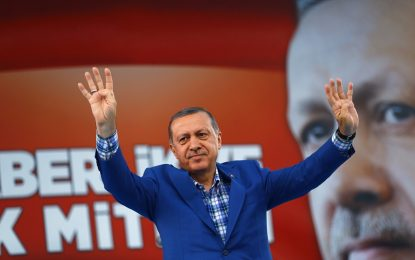 Ердоган спря всички дела за обида срещу властта му