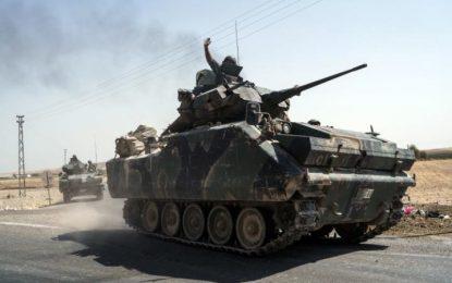 Турция откри нов фронт в Сирия