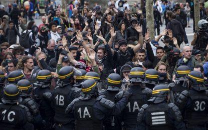 Протести и сблъсъци във Франция заради трудовата реформа