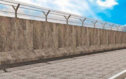 Турция запечатва границата със Сирия с бетонна стена