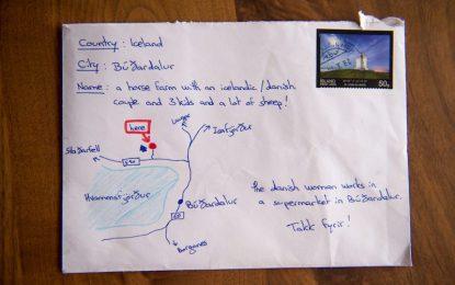 В Исландия доставят пощата и без адрес