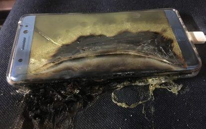 Samsung изтегли Galaxy Note 7 от пазара заради гърмящи батерии