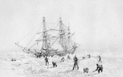 """Откриха """"Ужас"""", изчезнал в Арктика преди 168 години"""