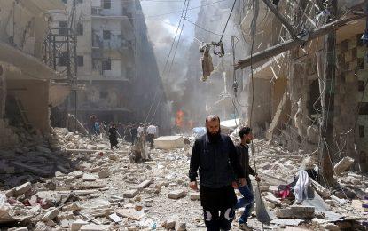 Бунтовници в Алепо опитват да разбият обсадата