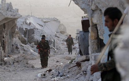 Асад си връща Алепо