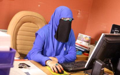 Забулена жена – кандидат на местни избори в Босна