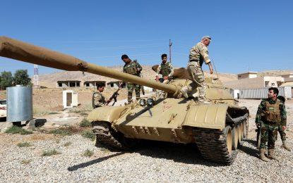 САЩ и Ирак бомбардират покрайнините на Мосул преди битката за града
