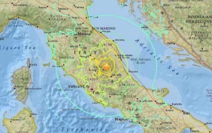 Земетресение в Италия, една жертва от страх