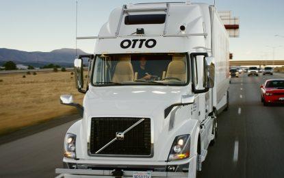 Първа доставка на товар с безпилотен камион в САЩ