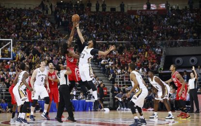 НБА пуска феновете в играта с виртуална реалност