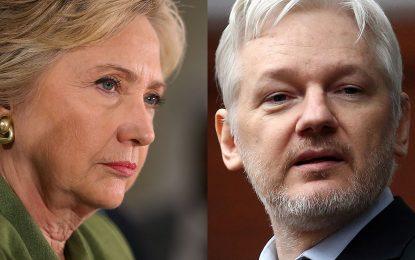 Хилари Клинтън искала да убият Асанж с дрон