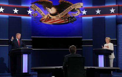 Тръмп и Клинтън се сблъскаха за последно преди изборите
