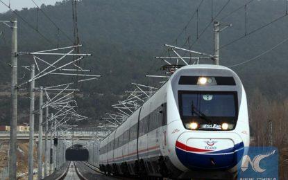Нова гара за високоскоростни влакове открита в Анкара