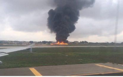 Самолет се разби в Малта, има жертви