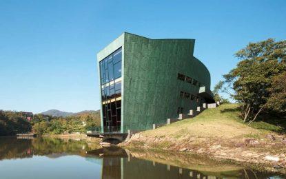 Чудо на архитектурата се крие в горите на Китай