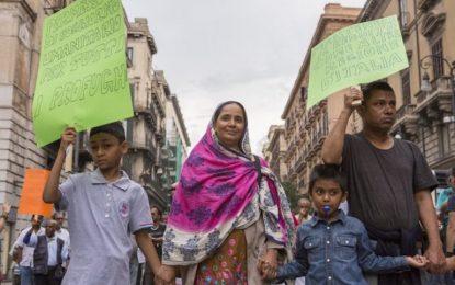 Oпит за убийство на мигрант обедини Палермо срещу мафията