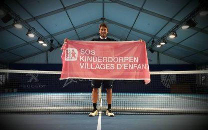 €25 000 събра тенисист за игрище в SOS детско селище Трявна