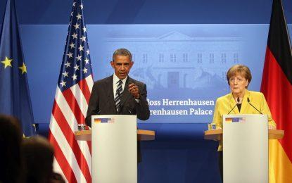 След последната си среща Меркел и Обама защитиха ТТИП