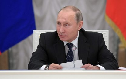 """Путин обяви декларацията за руската пропаганда за """"деградация"""""""