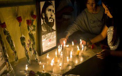 Прахът на Кастро обикаля Куба до 4 декември