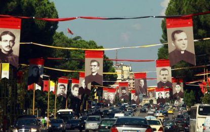 Албанската църква почита мъченици на комунизма
