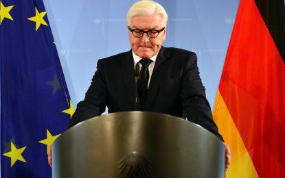 Германският външен министър става президент