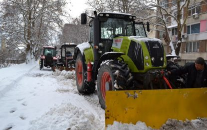 Депутатска фирма ще чисти снега в Хасково