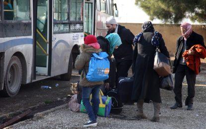 30 000 цивилни и 4000 бойци са евакуирани от Алепо